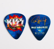 KISS Guitar Pick - Hottest Show on Earth 2010, Paul Milwaukee
