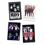 KISS Magnets - Concert Posters set of 4