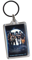 KISS Keychain - Rock the Nation