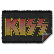KISS Blanket - KISS Logo, WOVEN THROW