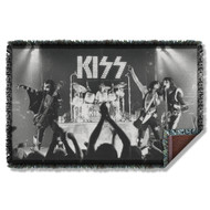 KISS Blanket - KISS Alive!, WOVEN THROW