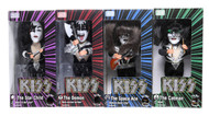 KISS Figures - Sound-a-likes 2004, set of 4, (OPEN)