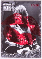 KISS Trading Card - Ikons card #15 Lips variant, 17/50