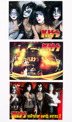 KISS Trading Cards - Cornerstone Promo, set of 3