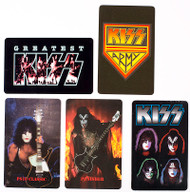 KISS Phone Cards - assorted set of 5