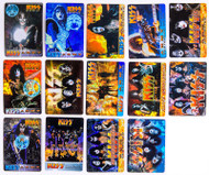 KISS Stickers - Prism Foil, set of 15