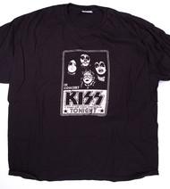 KISS T-Shirt - Tonight black (washed) size 2XL
