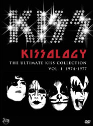 KISSology 1 DVD with bonus disc Capital Centre Largo MD 1977 concert (open)