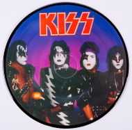 KISS Vinyl Record - Elder World Without Heroes, PICTURE DISC 45