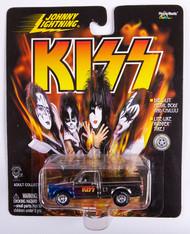 KISS Johnny Lightning Car - 1991 GMC Cyclone, silver w/blue flames