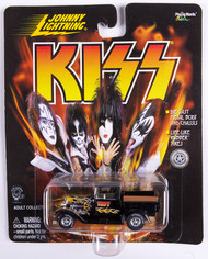 KISS Johnny Lightning Car - 1928 Ford Model A Truck, black w/yellow flames