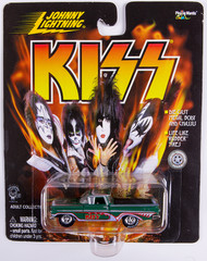 KISS Johnny Lightning Car - 1959 El Camino, green