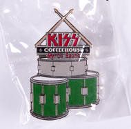 KISS Coffeehouse Pin - Peter Criss Drums