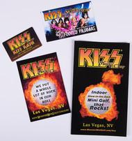 KISS Monster Mini Golf - Promo item assortment