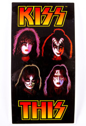 KISS Stickers - KISS This Wine Bottle Sticker