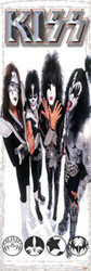 KISS Poster - Reunion Door Poster, 5 feet tall