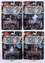 KISS Racing Champions Cars - KISS Character set, issue# 1,2,3 and 4