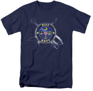 KISS T-Shirt - KISS Navy Emblem