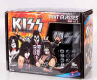 KISS Pint Glass - Icons, set of 2