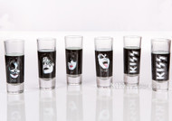 KISS Shooters - set of 6