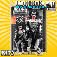 KISS Figures - Gene Simmons Monster 2 pack, 8 &12 inch