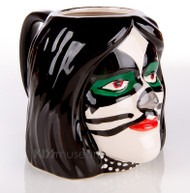 KISS Ceramic Head Mug - Peter Criss