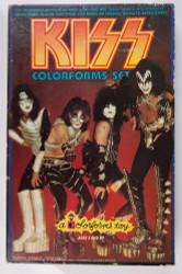 KISS Colorforms set, 1978