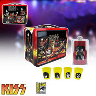 KISS Lunchbox - Classic 1977 reproduction, DELUXE, (open)