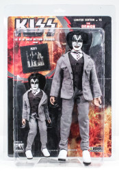 KISS Figures - Dressed to Kill, Gene Simmons Demon 2 pack, 8 &12 inch