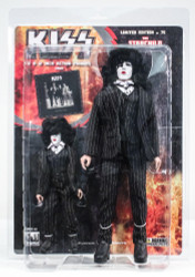 KISS Figures - Dressed to Kill, Paul Stanley Starchild 2 pack, 8 &12 inch