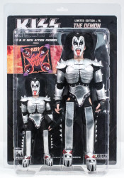 KISS Figures - Sonic Boom, Gene Simmons Demon, 2 pack, 8 &12 inch