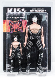 KISS Figures - Sonic Boom, Paul Stanley Starchild, 2 pack, 8 &12 inch