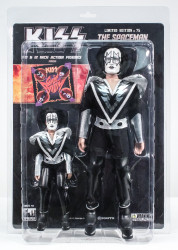 KISS Figures - Sonic Boom, Tommy Thayer Spaceman, 2 pack, 8 &12 inch