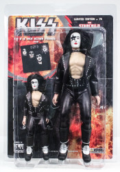 KISS Figures - First Album, Paul Stanley Starchild, 2 pack, 8 &12 inch