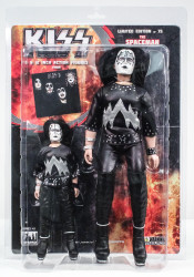 KISS Figures - First Album, Ace Frehley Spaceman, 2 pack, 8 &12 inch