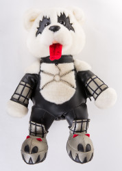 "KISS Love Gun Bear - 16"" Gene, (no box)"