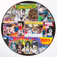 KISS Vinyl Record - Unmasked, PICTURE DISC