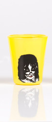 KISS Shotglass - Yellow, Peter Criss