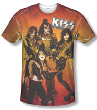 KISS T-Shirt - Flames '76, (big print)