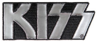 KISS Patch - Silver Logo