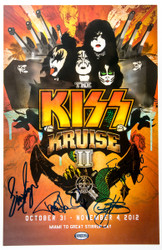 KISS Kruise II Autographed Poster - (b)