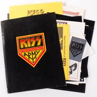 KISS Army Fan Club Kit, Pre-Destroyer era Jan/Feb 1976