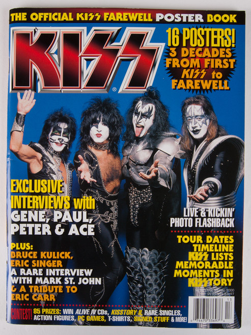 Kiss Magazine Official Kiss Farewell Poster Book 16