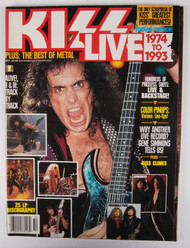 KISS Magazine - KISS Live 1974 to 1993