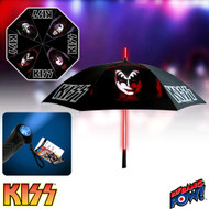 KISS Umbrella - with Light-up Tube and Flashlight Handle