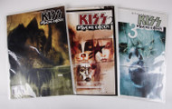 KISS Comic - Psycho Circus Graphic Novels 1,2 and 3