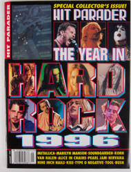 KISS Magazine - Hit Parader, The Year in Hard Rock 1996, (Ace hologram)