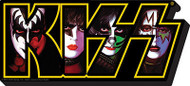 KISS Magnet - Chunky Logo