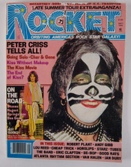 KISS Magazine - Rocket, Peter September 1978