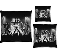 KISS Throw Pillow - Alive Stage